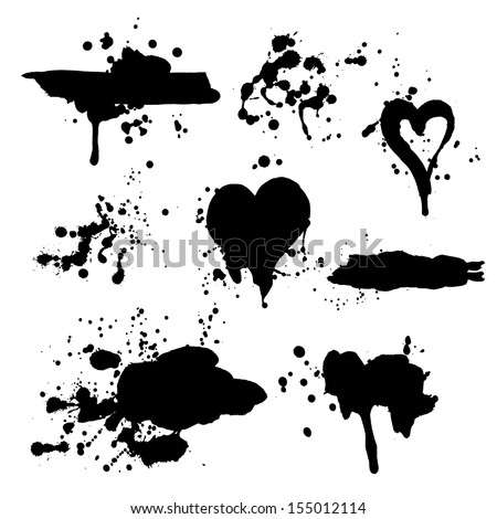 grunge vector hand drawn