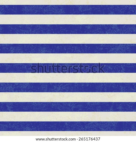Grunge white and blue sailor stripes vector background #265176437