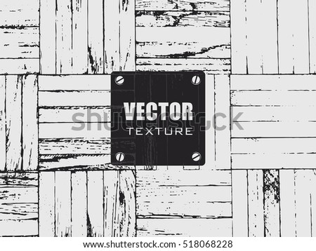 grunge wood flooring vector