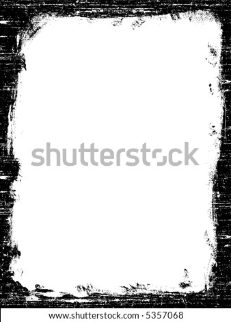 Grunged Border -  Highly Detailed vector grunge graphic.