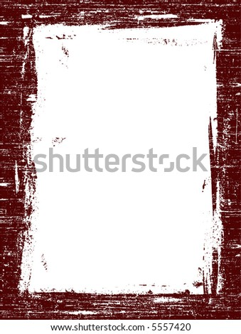 Grunged Border 3 -  Highly Detailed vector grunge graphic.