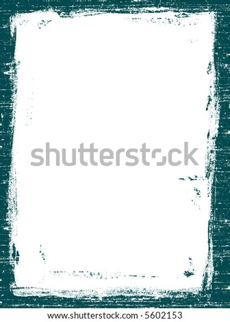 Grunged Border 4 -  Highly Detailed vector grunge graphic.