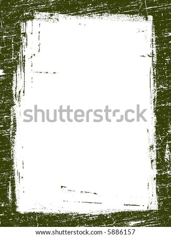 Grunged Border 10 -  Highly Detailed vector grunge graphic.