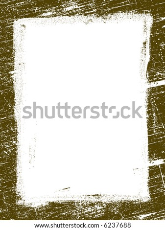 Grunged Border 15 -  Highly Detailed vector grunge graphic.