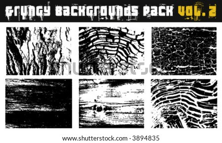 Grungy backgrounds Pack Vol. 2