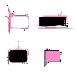 Grungy Emo Banner Set