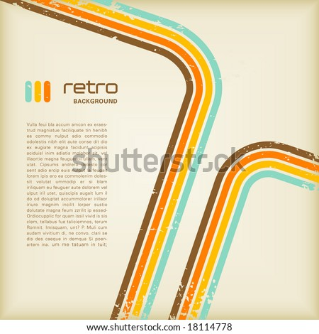 grungy retro background with copyspace for your text