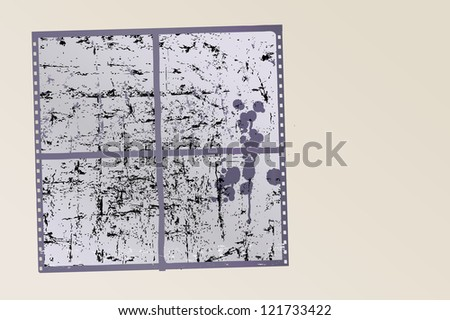 Grungy textured photo frames, vector format eps 10