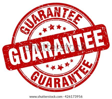 guarantee. stamp Stock photo ©