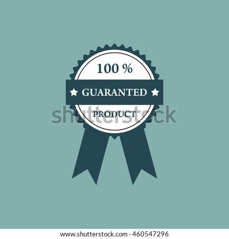 Guaranteed Badges and Tag Vector Design