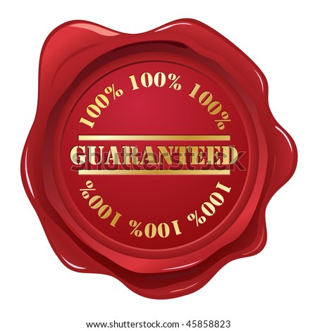 Guaranteed wax seal