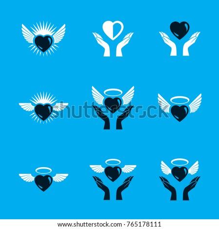 guardian angel vector
