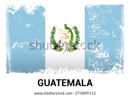 Grunge Flag Guatemala Stock Illustration 149513789 - Shutterstock
