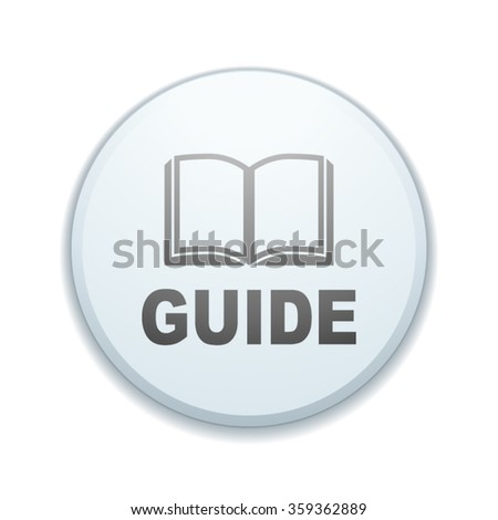 Guide button sign