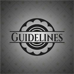 Guidelines dark badge