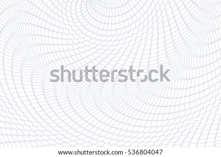 Guilloche background. Monochrome guilloche texture with waves. Original money pattern. Digital watermark for Security Papers, certificate, voucher, banknote, money design, currency, note, check etc