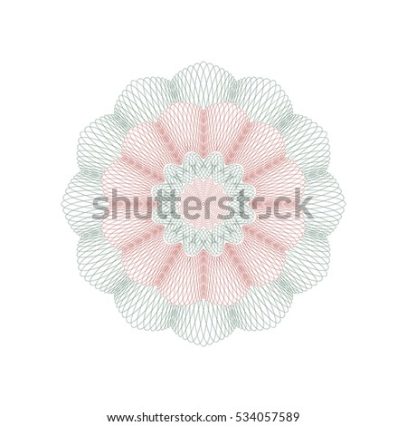 Vector Images, Illustrations and Cliparts: Guilloche rosette
