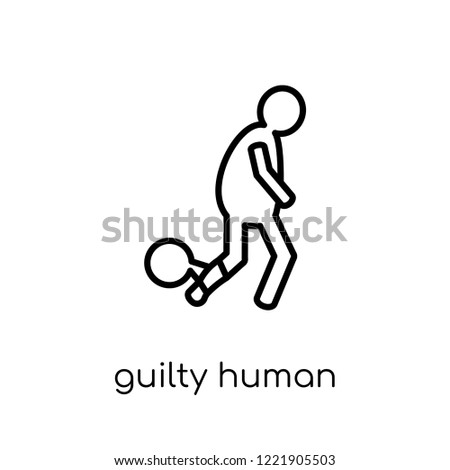 guilty human icon trendy
