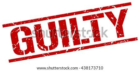 guilty stampstampsignguilty