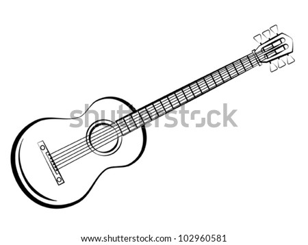 guitar vector silhouettes download free vector art stock graphics Triple Neck Bass guitar