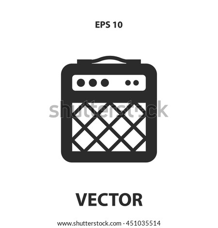 guitar amp icon