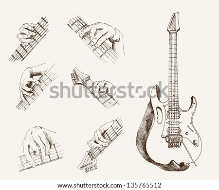 Electric Guitar Image - Download Free Vector Art, Stock Graphics ...