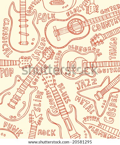 Guitar doodles!