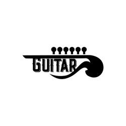 Guitar Logo Design