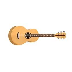 Guitar. Musical instrument, vector illustration