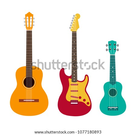 guitar set acoustic guitar