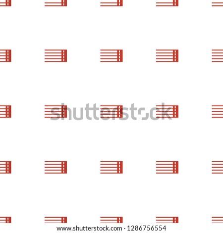 guitar strings icon pattern seamless white background. Editable filled guitar strings icon. guitar strings icon pattern for web and mobile.