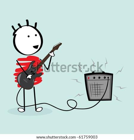 guitarist schoolboy