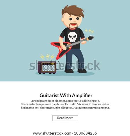 Guitarist With Amplifier Job Information