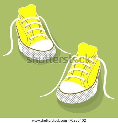 Gumshoes for sport.