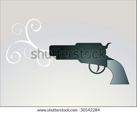 gun 2 - stock vector