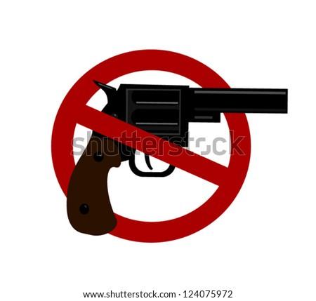 gun ban symbol