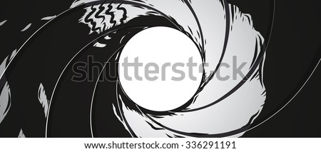 gun barrel   illustration