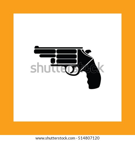 gun vector icon