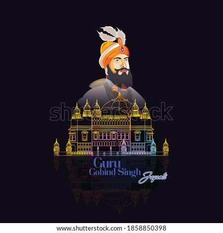 Guru Govind Singh Jayanti  For Sikh Celebration.