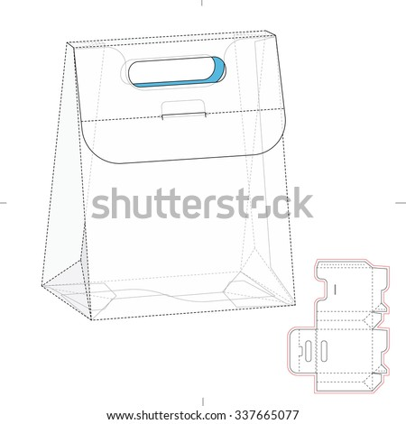 Royalty free point of sale display stand layout 175252244 for Point of sale display template