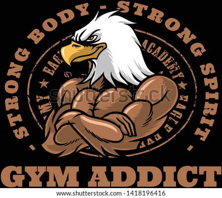 Gym addiction means a strong body, a strong body means a strong spirit. Be strong.