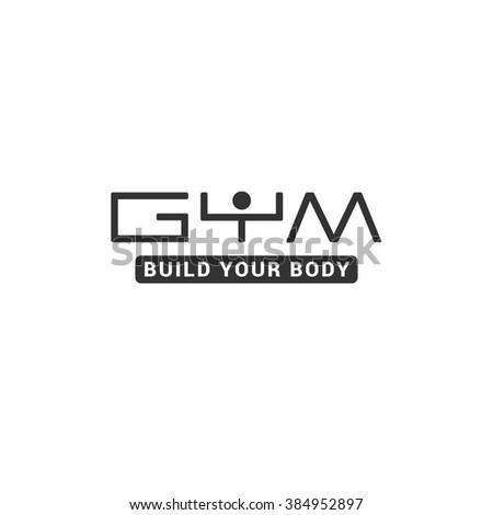 gym   sport club minimalistic