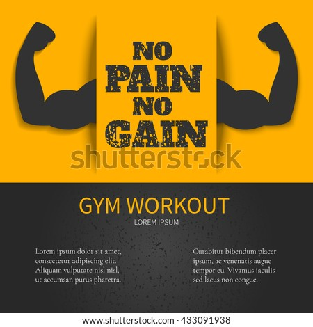 gym workout design template