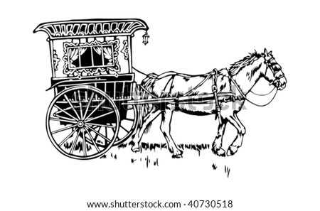 Gypsy or Romani wagon- vardo