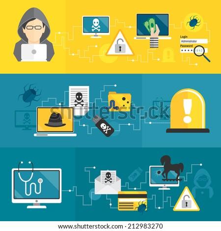 hacker activity computer and e...