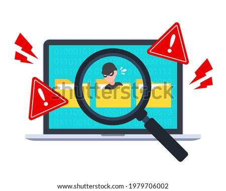 hacker detected in folder by