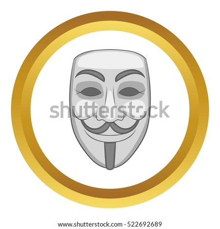 hacker or anonymous mask vector