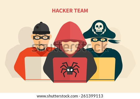 hacker team   hacker  pirate