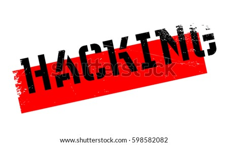 hacking rubber stamp
