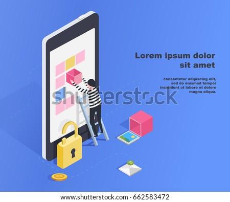 hacking smartphone user